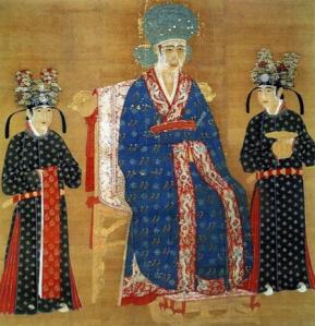 Portrait impérial de l'impératrice Cao, dynastie des Song, Xème siècle, Musée National du Palais, Taipei.© Musée National du Palais, Taipei.