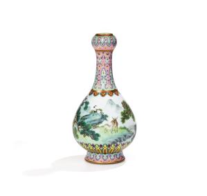 Vase aux daims Sothebys