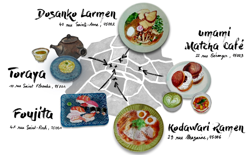 Carte - Restaurants Japonais Paris v4
