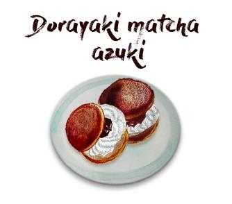 Plat - Dorayaki au UMAMI MATCHA CAFE