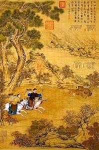Emperor_Qianlong_hunting_a_deer