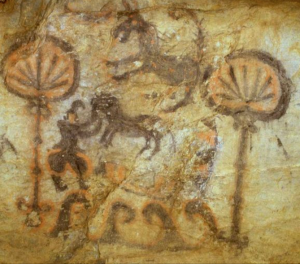peinture psychopompe