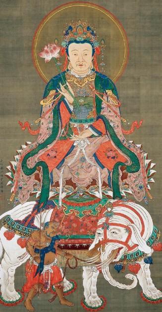 Itō Jakuchū, Bodhisattva Samantabhadra, 1765, Shōkokuji, Kyōto