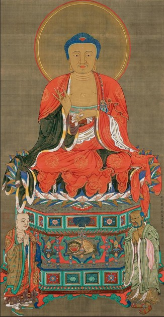 Itō Jakuchū, Boudhha Sakyamuni, 1765, Shōkokuji, Kyōto