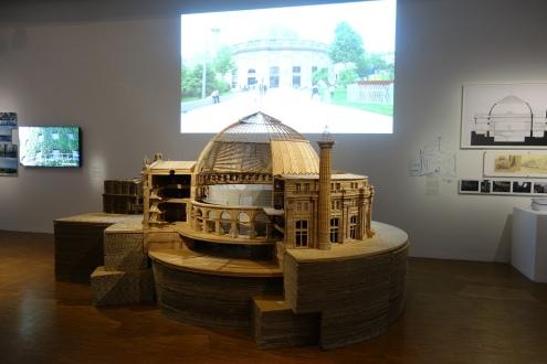 Tadao Ando, Maquette de la Bourse de Commerce, en travaux depuis 2016, Paris