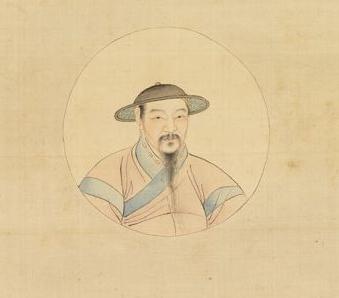 copie d'un autoportrait de zhao mengfu
